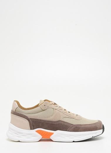 F By Fabrika Erkek Bej Sneakers FRED Bej